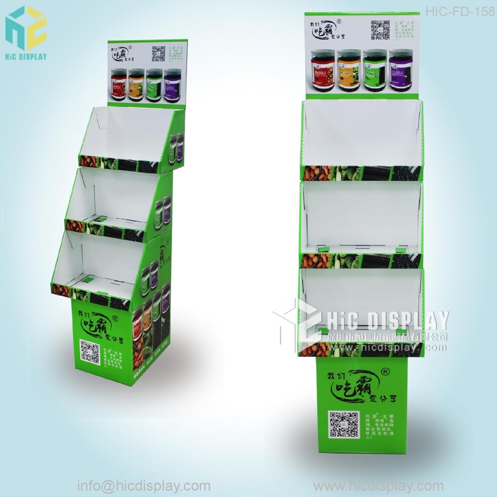 HIC retail store supplies, corrugated plastic display