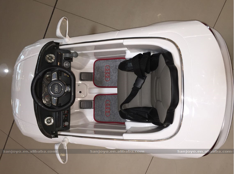 Wholesale China Import Toys Audi A3 Ride On Car 3 level speed ...
