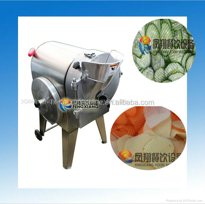 FC-312A commercial automatic vegetable wave slice cutter