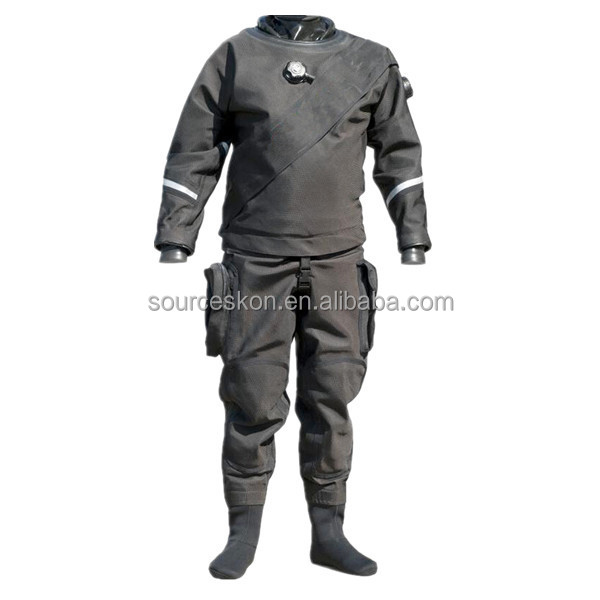 2017 factory direct supply durable and breathable trilaminate diving drysuit