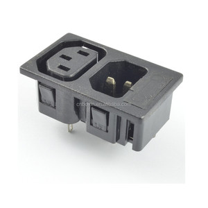 IEC c13 c14 PDU power outlet male and female socket industrial plug and socket
