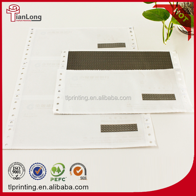 high quality confidential envelope carbonless paper