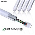 Manufacturer Alu+PC tube 600mm SMD2835 IC driver 86-265V/AC 9W T8 LED tube light