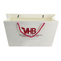 wholesale Free sample factory price custom shopping white paper bag custom luxury gift bags free samples