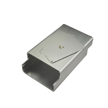 Powder coated aluminum diy enclosure extrusion box