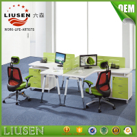 Online shopping cheap wood computer desk office furniture plastic partition standard size