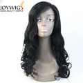 Hot sales 10A grade 1# Color super wave Chinese virgin Human Hair full lace Wig