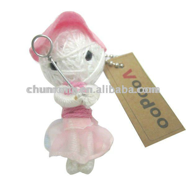 New design handmade lovely voodoo doll