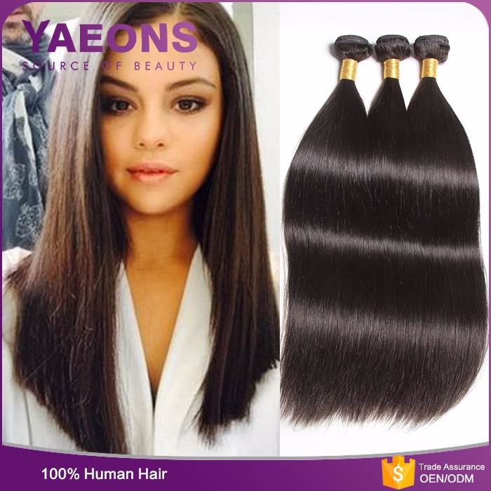 100% virgin remy human hair weft factory wholesale raw cambodian hair weave