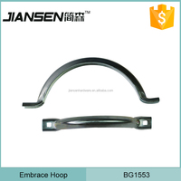 Heavy Duty Wholesale Metal Half Round Clamp