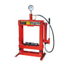 10t Hydraulic Shop Press with Gauge