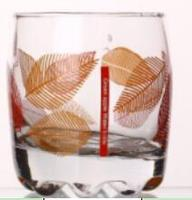 14.8oz water& juice cup glass with decal