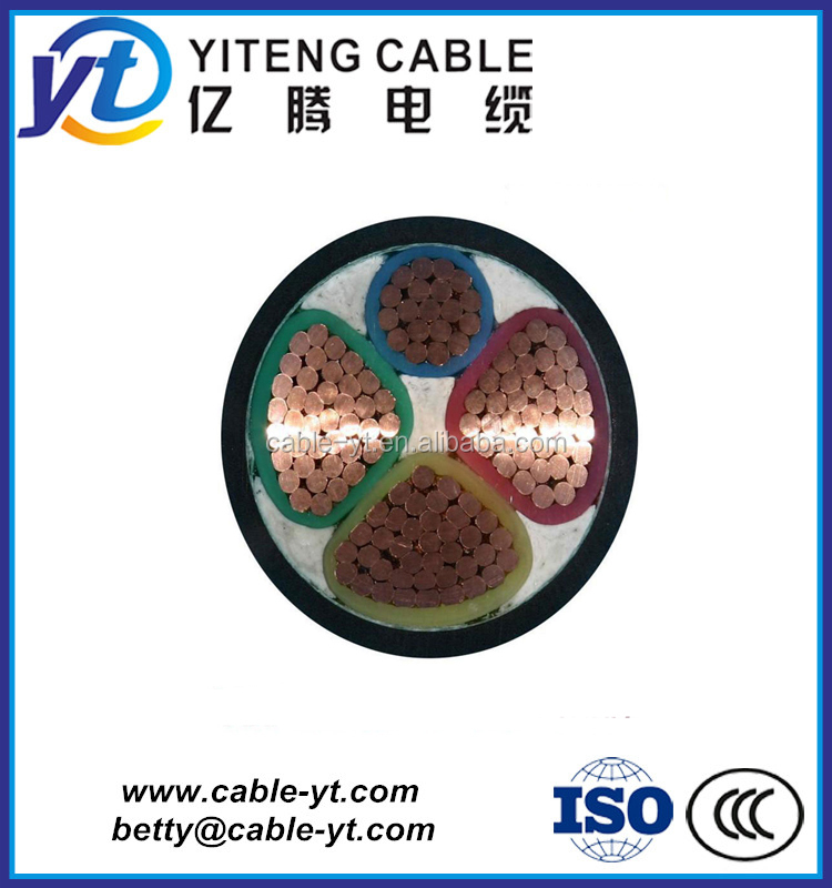 4 Cores XLPE Insulated LSOH Sheathed Armoured Power Cables