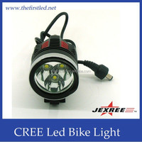 JEXREE Model PY09 Super Power Rechargeable T6 CREE LED bike cycling lights led mountain bike light