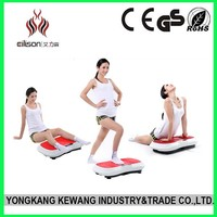 2015 High Quality New Design Fitness Vibration Plate Gym Machine Crazy Fit Massager