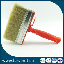 LARY BR3608 White China Bristle Paint Brush Plastic Paint Brush Holder for General Purpose Use