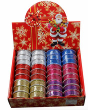 Best selling products christmas printed ribbon