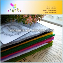 Manufacture Selling Eco-friendly Color Needle Felt