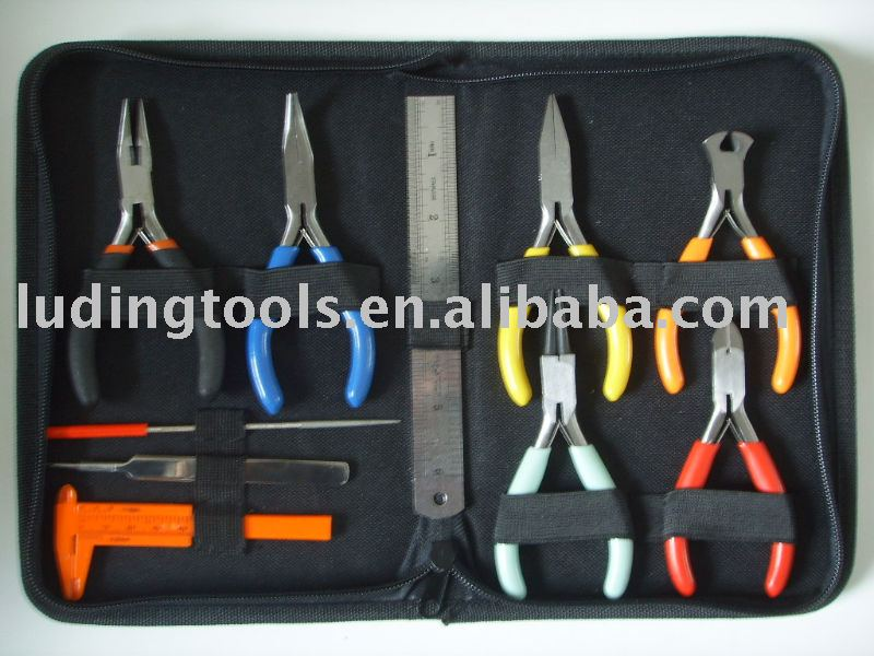 10 PC Jewellery Making Tools Kit