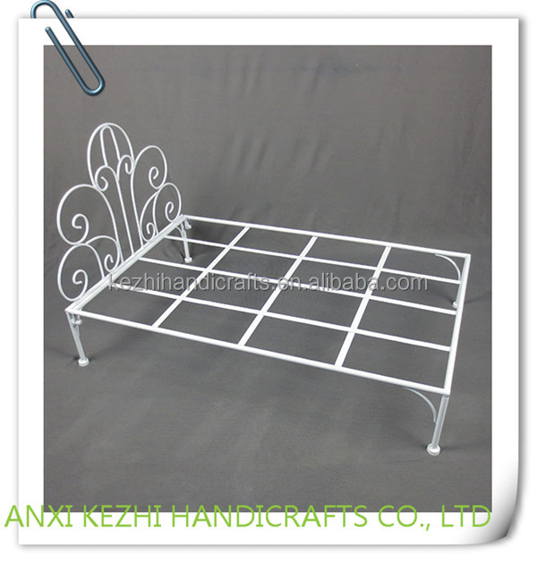 KZ8-06073 China Popular cat dog Wrought iron metal pet bed