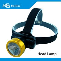 LED Headlamp With Aluminum Alloy Material Light Head