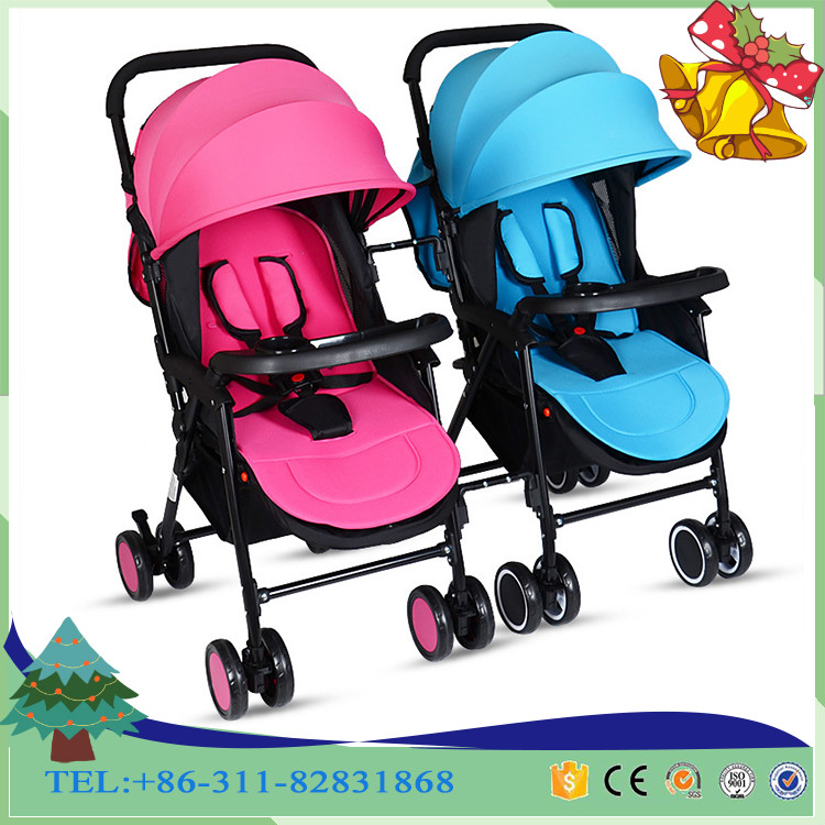 Freestyle TWIN Baby Pram/two seat baby stroller for twins/New twins baby trolley light aluminum tube double car, Pormotion now