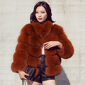 CX-G-A-121D Taobao Clothes Ladies Fashion Genuine Fox Fur Russian Fur Coats Women Clothes