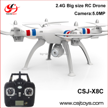 Toysky Newest CSJ-X8 2.4G 6 Axis Big Size RC Drone Wholesale quadcopter with Camera VS SYMA X8C X8G X8W