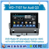 2016 Wisdom new Pure android car dvd for Audi Q3 GPS navigation with wifi 3G DVR OBD wifi BT IPOD RDS ATV car