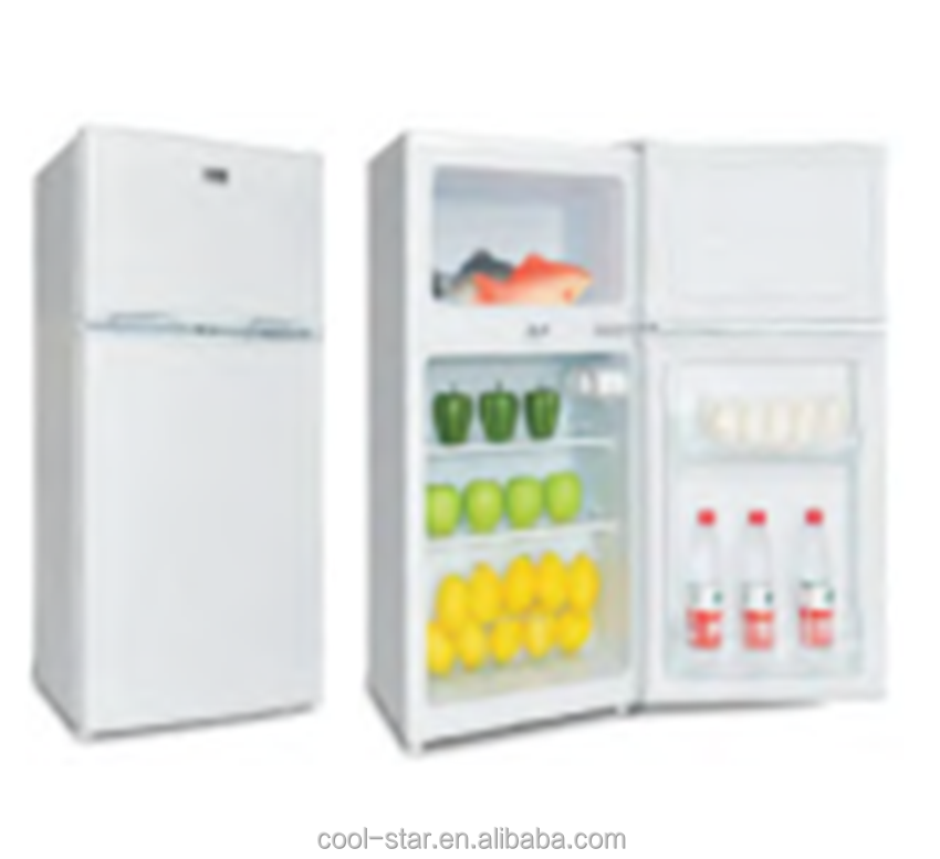 86litre Mini upright Top freezer <strong>refrigerator</strong> with double doors
