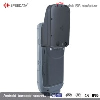android handheld rfid card reader smart phone in industrial feilds with biometric fingerprint reader scanner
