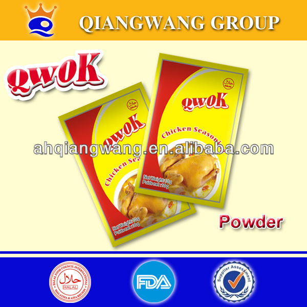 10gram*10sachets*36strips SUPER MIXED CHICKEN SPICY SEASONING POWDER