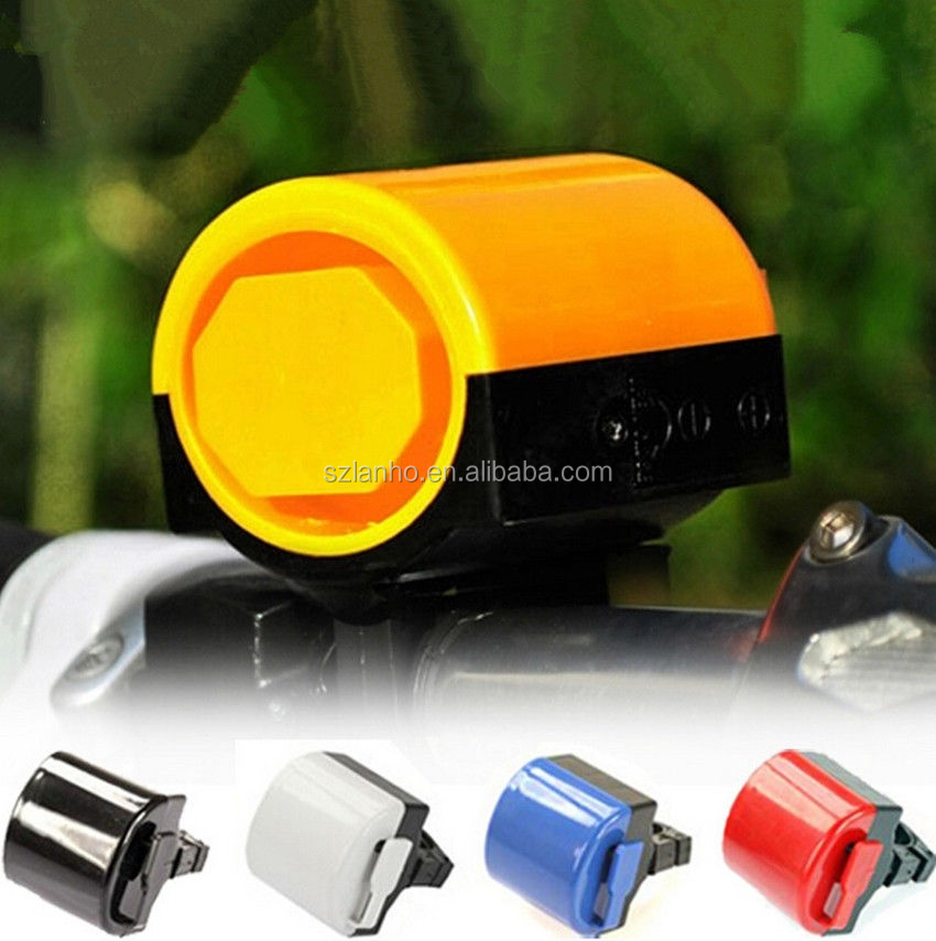 Powered By Battery Electronic Bicycle Bike Cycling Alarm Loud Bell Horn