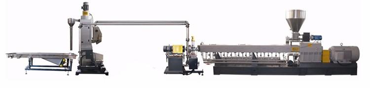 Twin Винт наполнителя masterbatch цвет masterbatch производственного оборудования
