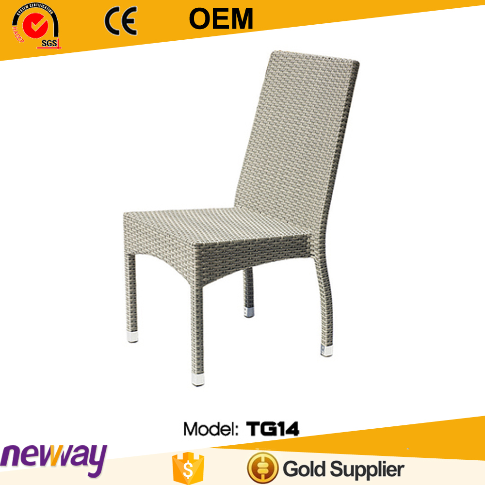 Outdoor furniture nice designs cheap price handmade dining PE rattan chair