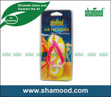 Shamood Newly Designed Scented Flip-Flop Car Gel Air Freshener