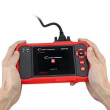 Launch CRP123 Auto Code Reader Update Online X-431 Creader CRP 123 ABS, SRS, Transmission and Engine Car Scan Tool