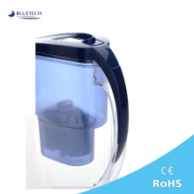 Wholesales CE ,ROHS Certification portable drinking water filter jug /pitcher/cup/kettle for health (color:selectable)