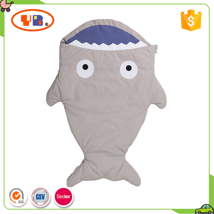 Infant Stroller Bag Shark Shape Baby Sleeping Bag