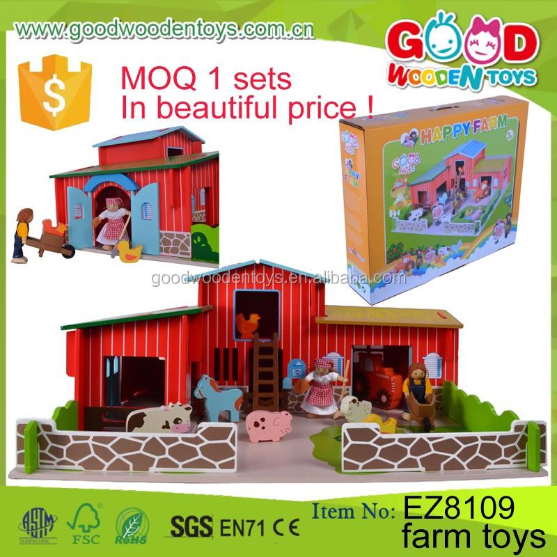 Preschool Toys Product : Preschool educational toys wooden farm for toddler