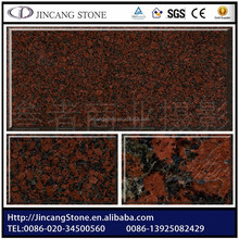 2015 popular natural Imported red auger granite brick