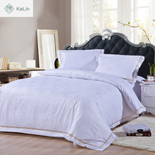 hot sale jacquard hotel bed linen size