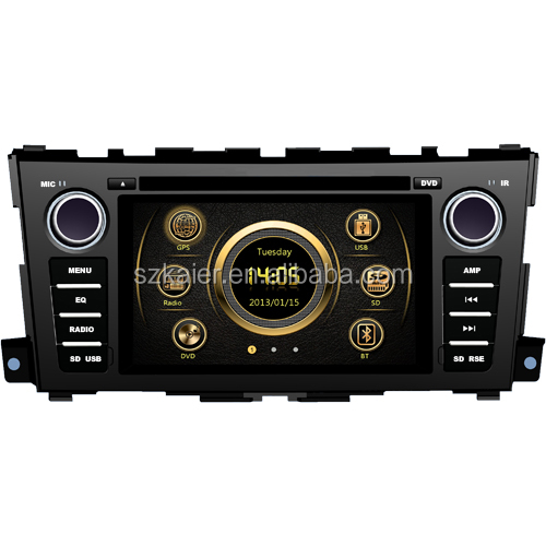 New version shock price car MP4 player for Nissan Teana with GPS/Bluetooth/Radio/SWC/Virtual 6CD/3G /ATV/iPod