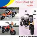 Inverted shock absorber gas motorbike/racing motorcycle