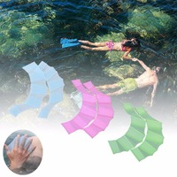 Half finger Hand Fins Swimming Hand Webbed silicone Frog webbed gloves