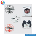 YK0809227 Three way infrared remote control small flying ball with gyroscope USB RC toy drone