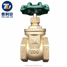 "Best sellers 1 1/4"" inch brass water gate valve parts price list"