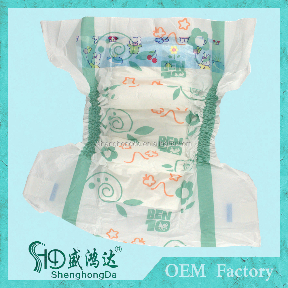 Wholesale Disposable Ben Ten Diapers Baby, Disposable Sleepy Baby Diaper Manufacturers in China
