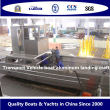 Transport Vehicle Boat Aluminum Landing Craft Boat