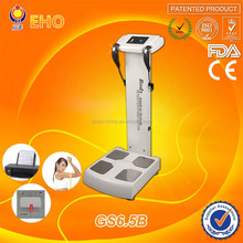 New products! GS6.5B latest technology A4 color report body fat scale (CE/EHO/Factory)